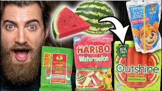 What's The Best Watermelon Snack? Taste Test