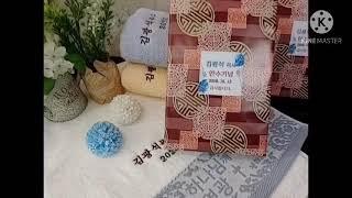 목사안수기념수건 목사임직답례품 제작과발송완료