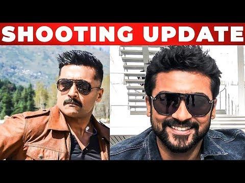 Suriya 37 Kaappaan Shooting Update | KV Anand | Mohanlal | Harris Jayaraj