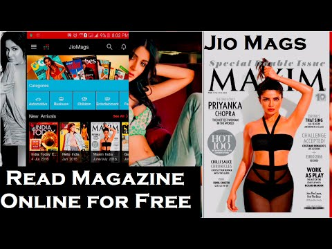 Read any Magazine online for Free! - Jio Mags - YouTube