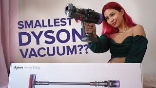 Dyson Micro 1.5 KG vacuum test…
