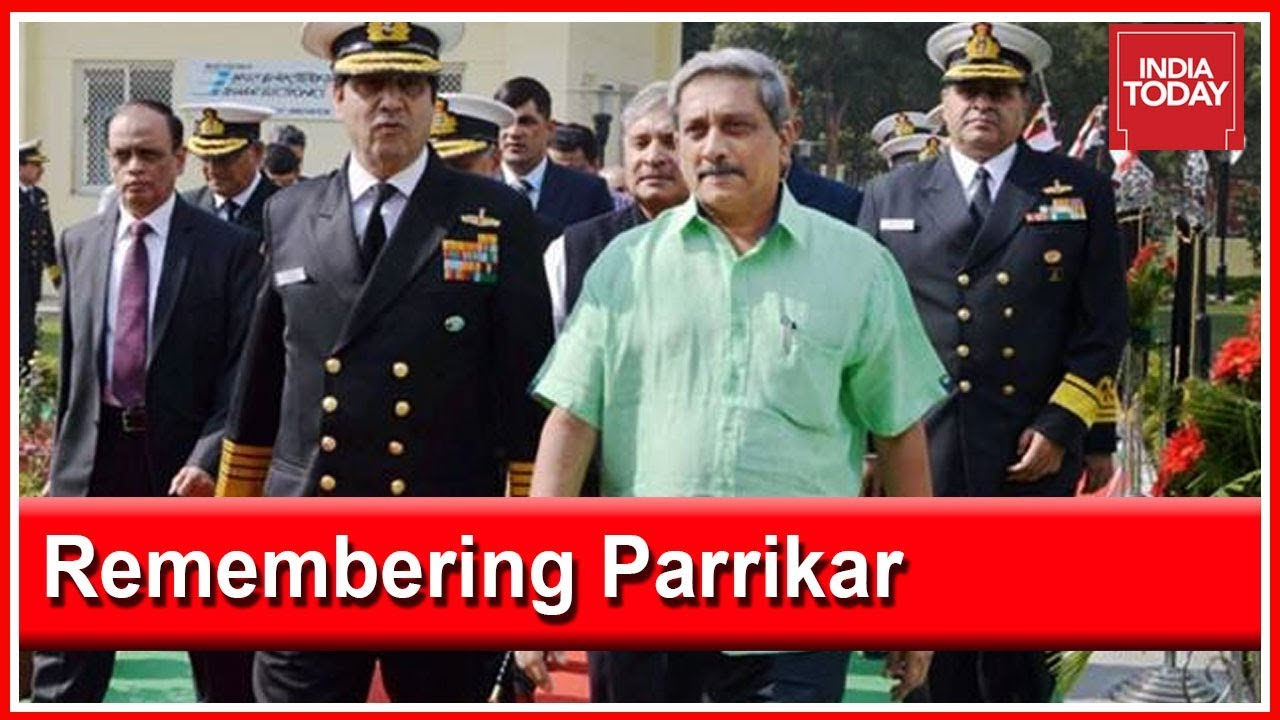 Remembering Manohar Parrikar's Tenure As Defence Minister Of India