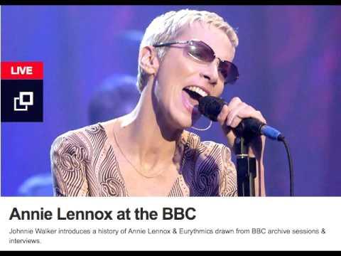 Annie Lennox at the BBC