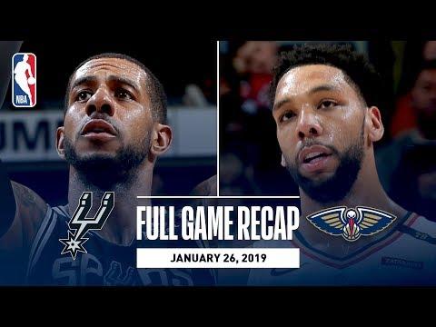 SPURSWATCH - Spurs beat Pelicans 126-114