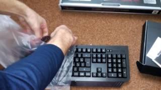 обзор распаковка Unboxing Клавиатура A4TECH A4 Bloody B120 USB Black