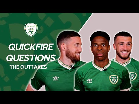 QUICKFIRE QUESTIONS | The Outtakes