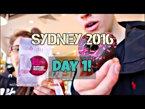 Sydney Day 1 | Arrival and Post 10k Calorie Challenge!