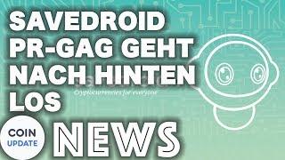 Savedroid bekommt Preis aberkannt | Kraken gegen US-Behörden - Krypto News 19.04.2018