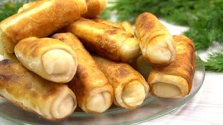 Хоть с картошкой хоть с капустой Вкуснятина неимоверная ХРУСТЯЩИЕ пирожки