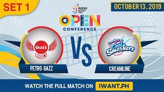 SET 1 | Petro Gazz vs. Creamline | Oct 13, 2019 #PVL2019 (Watch the full game on iWant.ph)