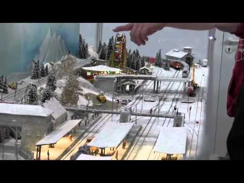 Leipzig Model Fair - Winter Scene