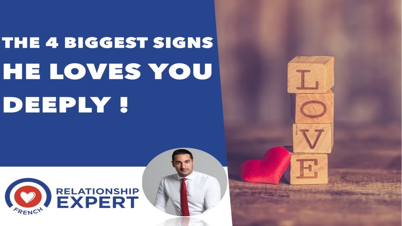 The 4 Biggest Signs He Loves You Deeply!