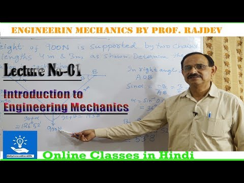 Introduction to Engineering Mechanics (हिन्दी में)