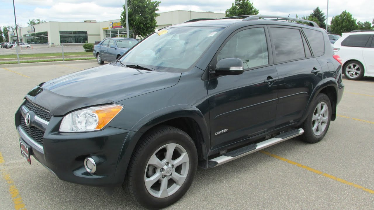 2011 Toyota Rav4 Limited I 4 Start Up Walkaround And
