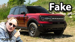 Here's Why the New Ford Bronco is Fake