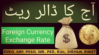 Today New Exchange Rates | US Dollar Exchange Rate | Euro Exchange value | United State Dollar Rate