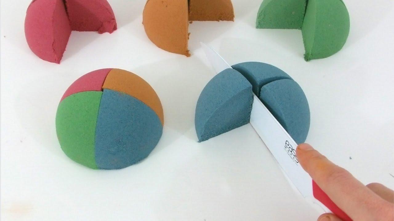 demi sphere sable magique super sand gloopy youtube. Black Bedroom Furniture Sets. Home Design Ideas