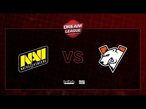 Natus Vincere Vs Virtus.pro, DreamLeague S13 QL, Bo2, Game 2 [Jam & Mael]