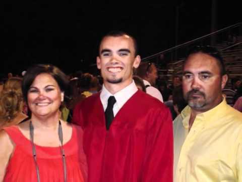 Caleb Cunningham graduates.... :)