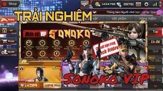 CF Mobile/CF Legends | Trải Nghiệm Nhân Vật VIP Sonoko Mua + Test | Tường Trần CFM