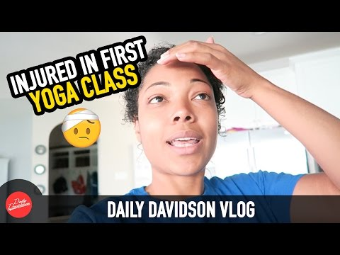 INJURED IN FIRST YOGA CLASS!!