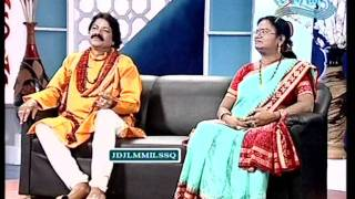 Celebrity Show with Bhajan Maestro Arabinda Muduli and Santilata Barik [Part-1]