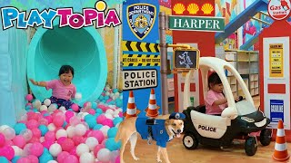 Download lagu Indoor Playground For Kids Family Fun   Toy Cars and Ball Pit Children Play Center