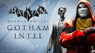 Batman: Arkham Origins –  Gotham Intel – Cyrus Pinkney Secrets & Anarky Tags