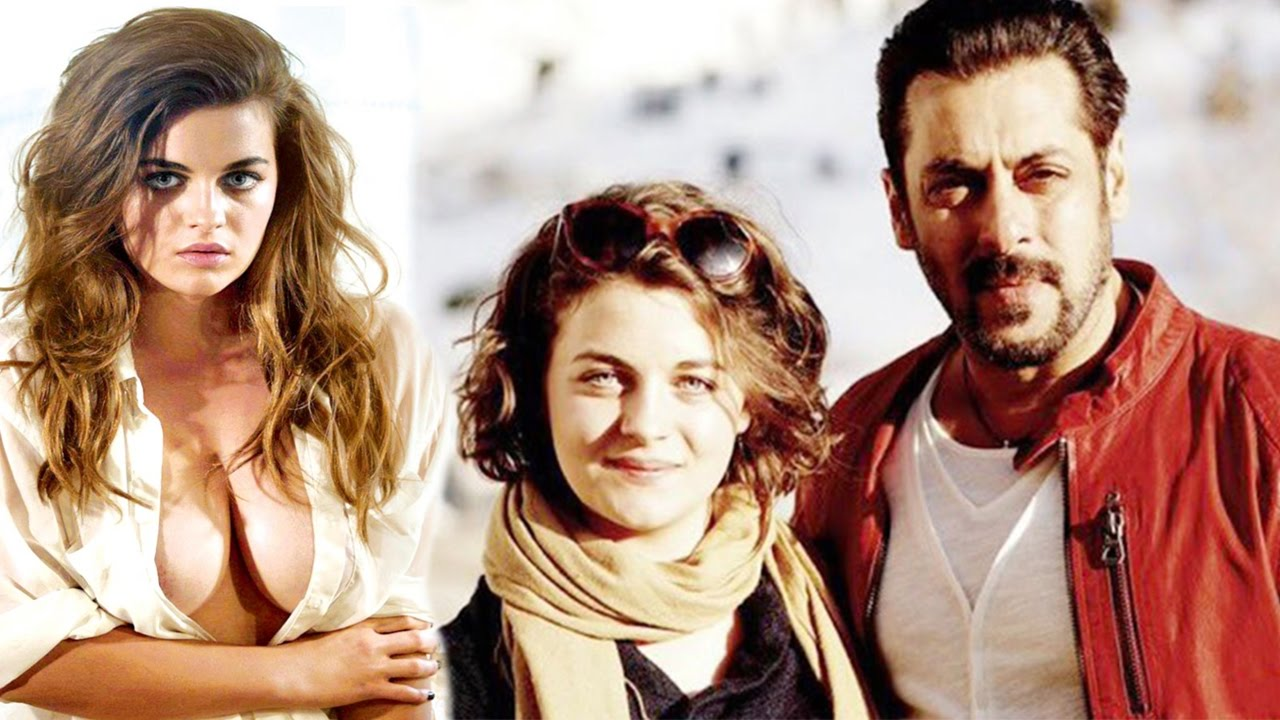 Salman Khan With Playboy Model Ronja Forcher On The