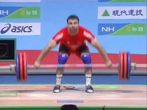 Tigran Martirosyan V. - Snatch 172Kg