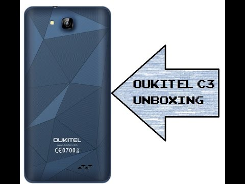 Oukitel C3 Unboxing : 60€ China Smartphone mit Android 6.0