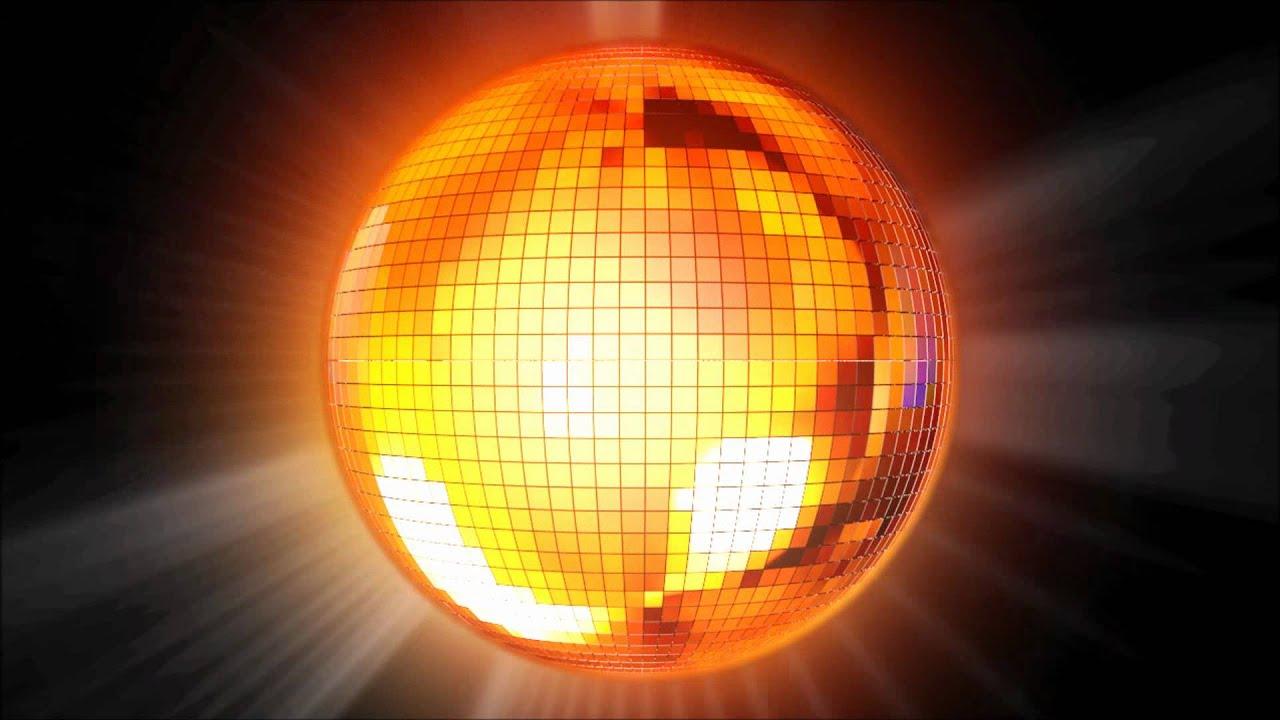 Disco ball animated