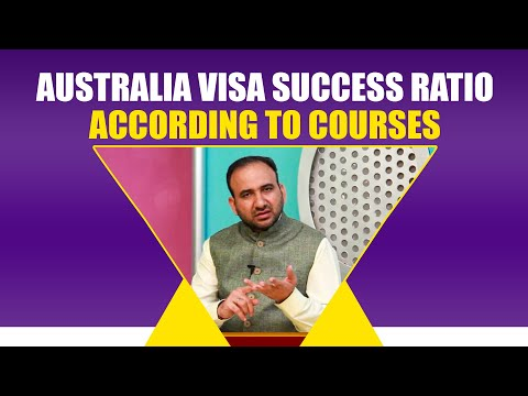 Australia Visa Success Ratio According To Courses