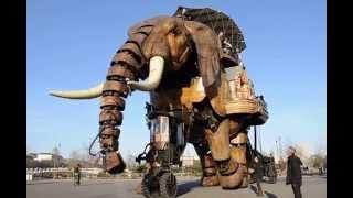 le grand éléphant - Parc des Chantiers de Nantes - Les machines de l'île