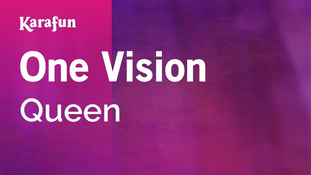 89fd25892 Karaoke One Vision - Queen   - YouTube