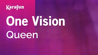 Karaoke One Vision - Queen *
