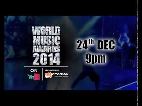 World Music Awards 2014  on Vh1 India presented  Micromax