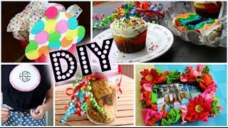 DIY Birthday Gift Ideas & Desserts! Thumbnail