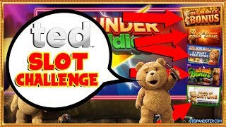 🐻 Going for BIG MONEY!! TED SLOT CHALLENGE !