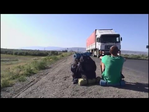 Hitchhike. Travel from Novosibirsk 2015