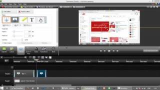 การ Brue ภาพวีดีโอบ้างส่วนหรือเซ็นเซอร์บ้างส่วนของวีดีโอ ด้วย Camtasia Studio