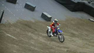 Nate Adams practicing Speed & Style (supercross & freestyle)