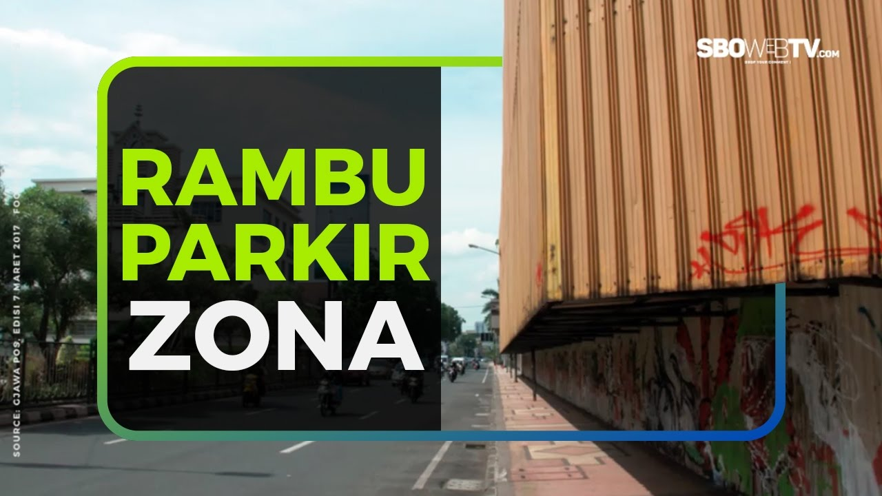 RAMBU PARKIR ZONA