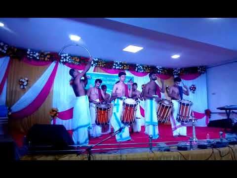 Chenda Melam by Members of Kerala Arts Club Chennai @ TAMBARAM MALAYALEE SAMAJAM ONAM CELEBRATION