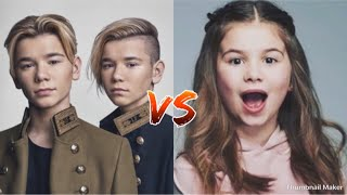 Marcus and Martinus VS Emma musical.ly🎵❤️
