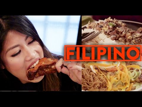 FILIPINO MODERN CUISINE w/ @AJRafael - Fung Bros Food