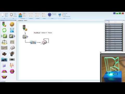 PicoMood Flowchart Programming Lesson 4 Trance