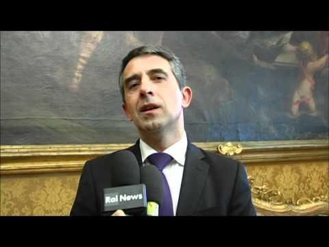 Intervista al presidente della Repubblica di Bulgaria, Rosen Plevneliev