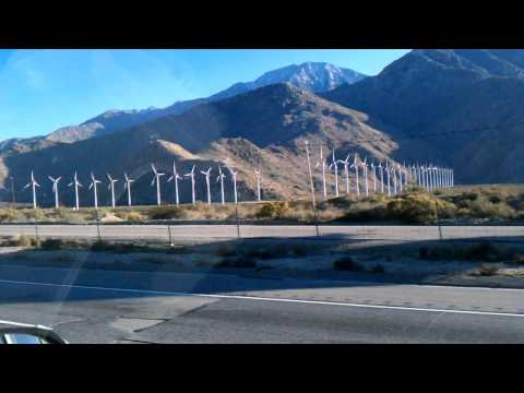 Wind Farms near Palm Springs, CA