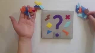 танграм и пентамино из фетра/ Игры на заказ от мастера
